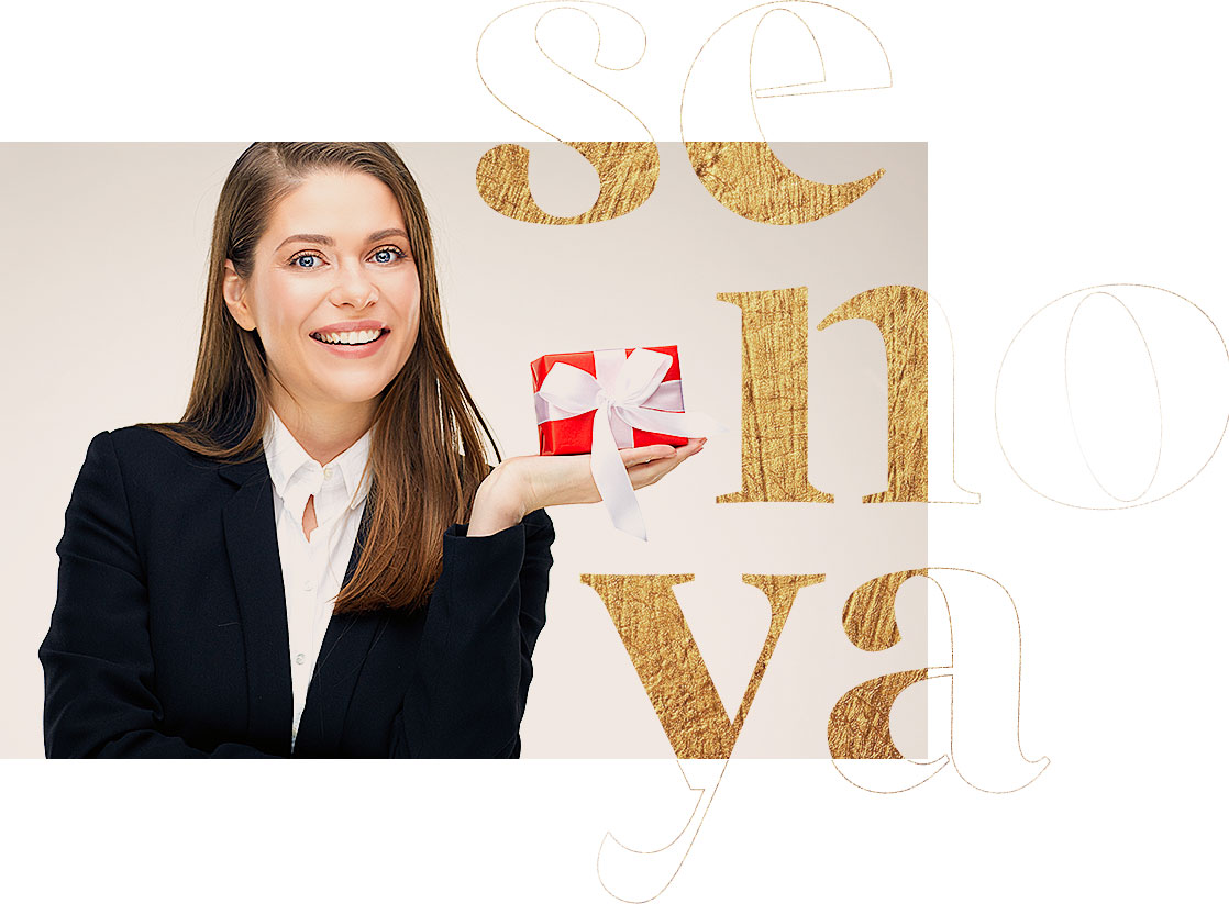 Senoya prezenty dla klientow