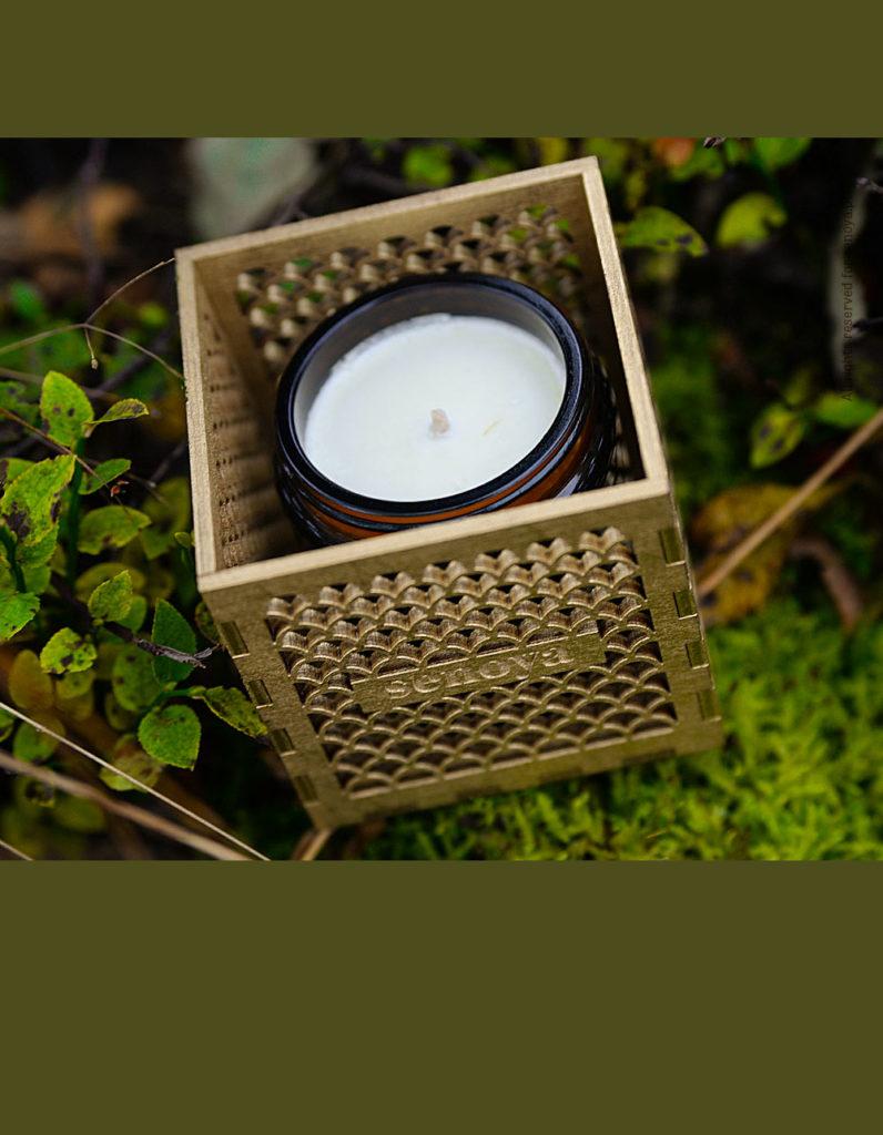 Świeca z lampionem